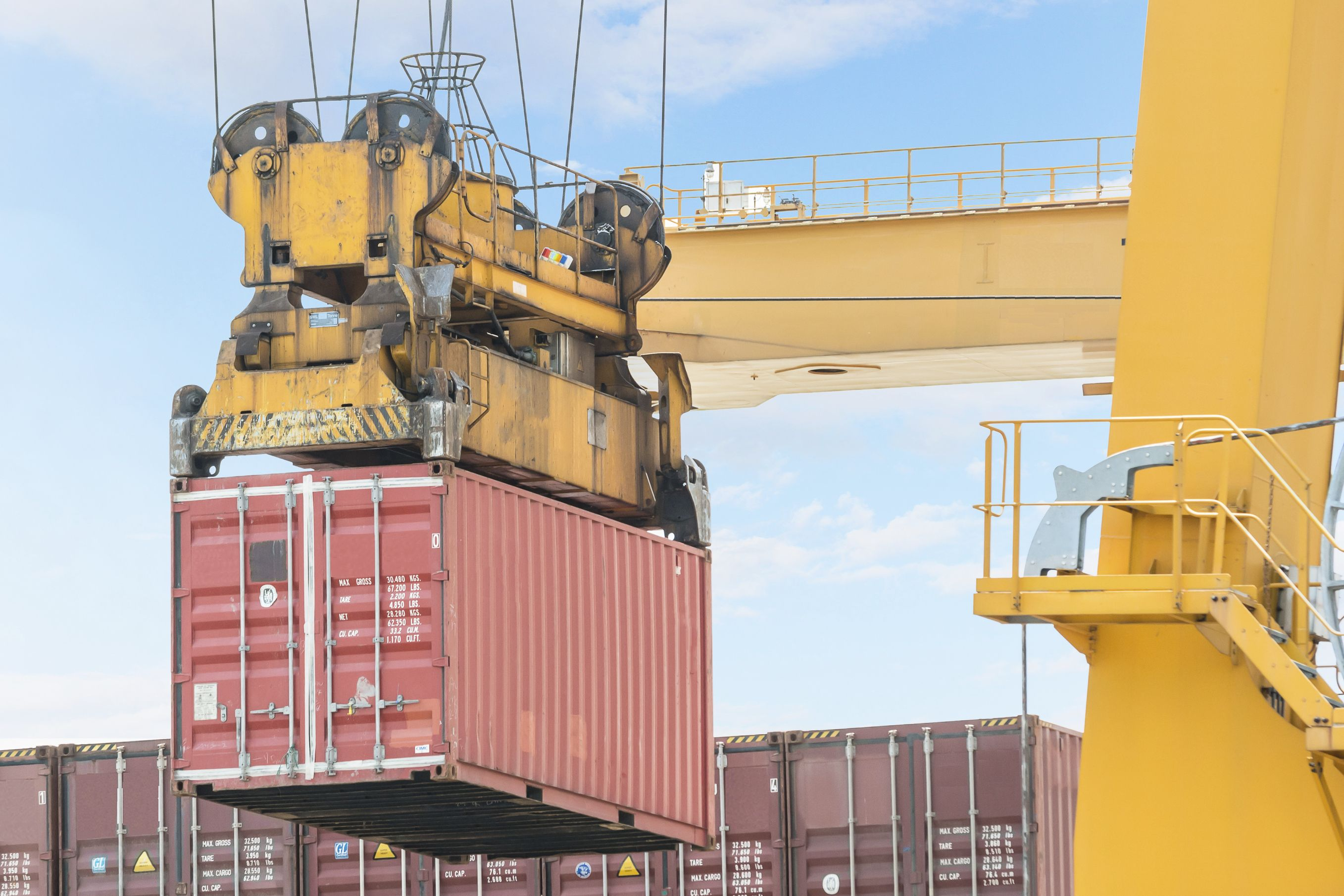 Intermodal containers need to be monitored to keep cargo integrity