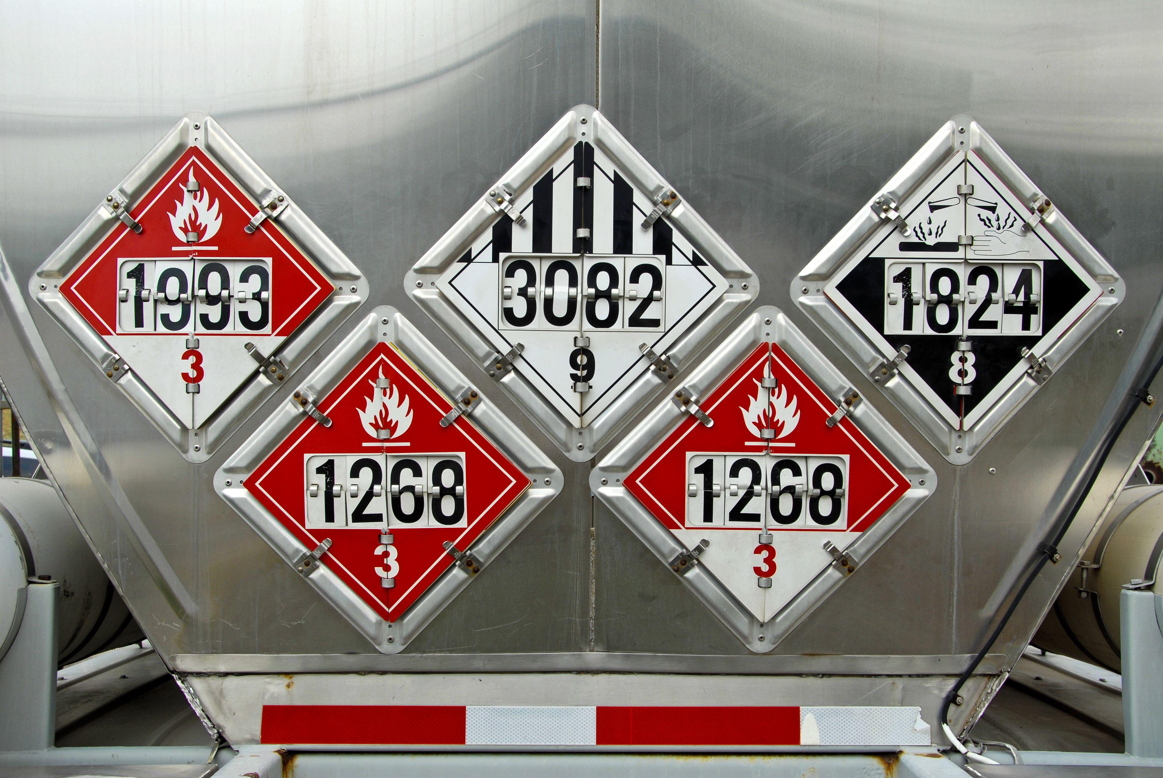 Hazardous material, class 1 Div 2 solutions